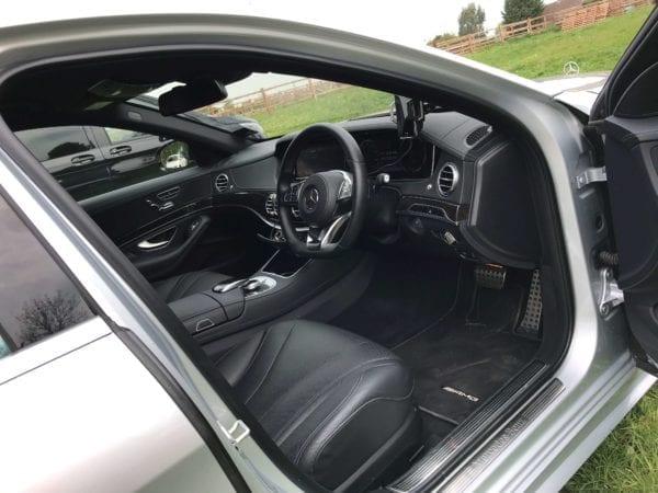 S Class Mercedes Interior